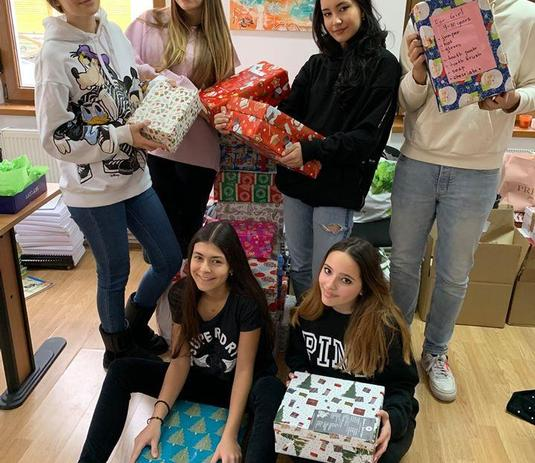 Shoeboxes to the Blythswood Appeal